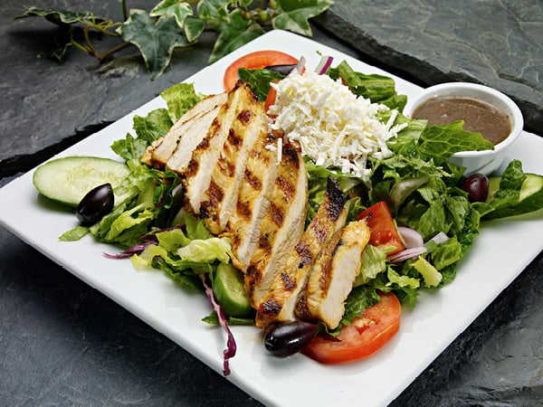 greek chicken salad Phoenician Garden